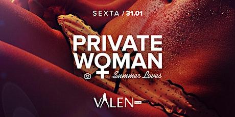 Private Woman | Valen Bar ingressos