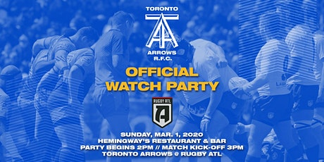 Toronto Arrows | Game 4 Official Watch Party vs Rugby ATL tickets