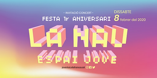Concert 1r aniversari Espai Jove La Nau