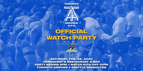 Toronto Arrows | Game 3 Official Watch Party vs Seattle Seawolves tickets