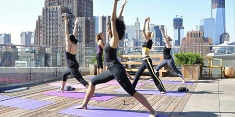 Rooftop Yoga + Bottomless Mimosas tickets