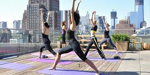 Rooftop Yoga + Bottomless Mimosas