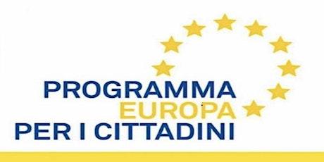 """Infoday programma """"Europa per i Cittadini"""" biglietti"""