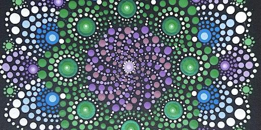 Meditative Mandala Painting