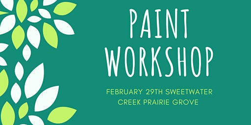 Sweetwater Creek Paint Workshop
