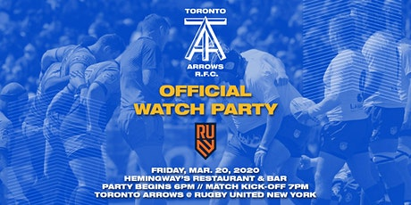 Toronto Arrows | Game 6 Official Watch Party vs Rugby United New York tickets