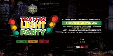 TRAFFIC LIGHT BOLLYWOOD PARTY tickets