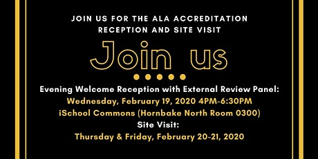 UMD iSchool ALA Accreditation Reception with External Review Panel tickets