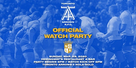 Toronto Arrows | Game 7 Official Watch Party vs NOLA Gold tickets