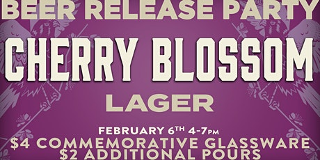 Cherry Blossom Beer Release! tickets