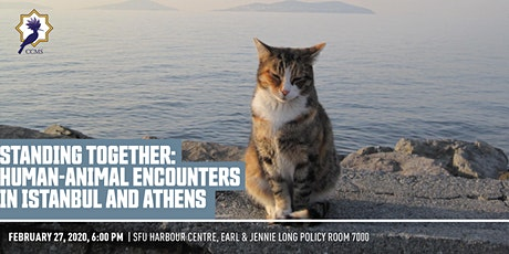 Standing Together: Human-Animal Encounters in Istanbul and Athens tickets
