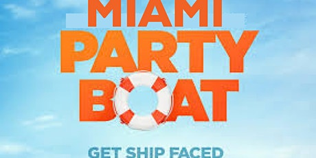 Miami Boat Party - Unlimited Drinks- Miami Yacht Party tickets