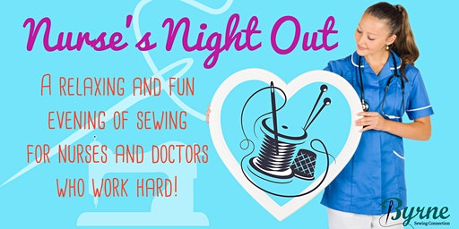 Nurse's Night Out - Sew & personalize your own scrub cap!
