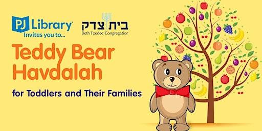 Teddy Bear Havdalah: HaOlam Sheli