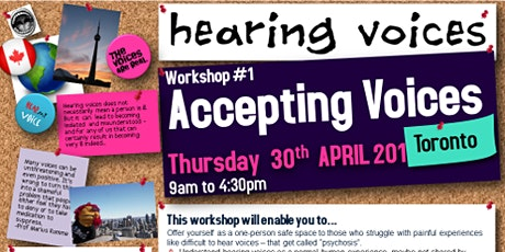 Hearing Voices - Workshop #1: Accepting Voices tickets