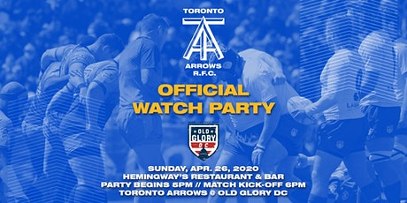 Toronto Arrows | Game 11 Official Watch Party vs Old Glory DC tickets