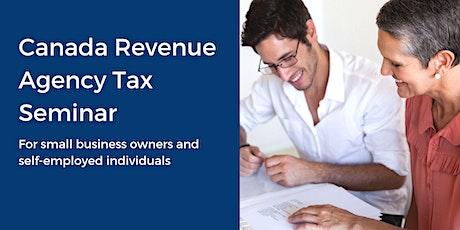 Canada Revenue Agency Tax Seminar tickets