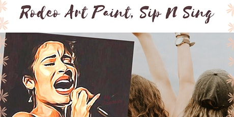 Rodeo Art Paint, Sing N Sip Experience tickets