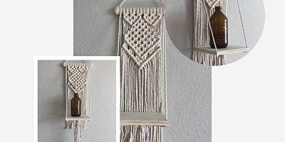 Intro to Macrame Shelf Workshop