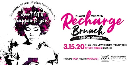Black Women Recharge, a champagne brunch & self-care celebration tickets