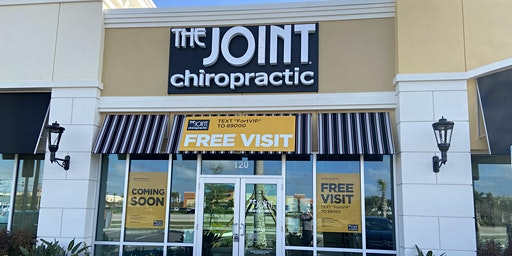 The Joint Chiropractic FREE ADJUSTMENT Opening Event in Fort Myers .