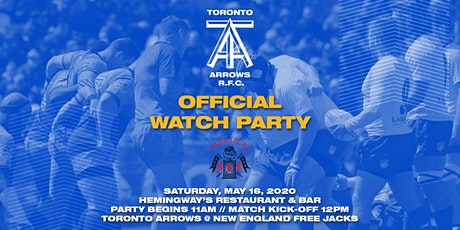 Toronto Arrows | Game 14 Official Watch Party vs New England Free Jacks tickets