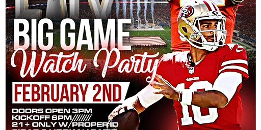 BIG GAME WATCH PARTY | FEB 2 @ STATS