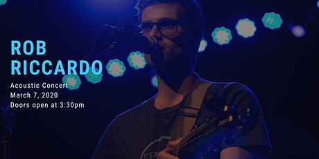 Rob Riccardo: Acoustic Concert tickets