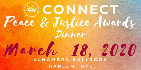 CONNECT Peace & Justice Awards Dinner tickets