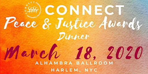 CONNECT Peace & Justice Awards Dinner
