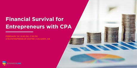 Financial Survival for Entrepreneurs with CPA SOUTH tickets