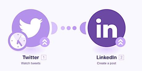 LinkedIn and #Twitter