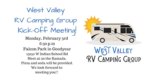 West Valley RV Camping Group Kick-Off Meeting