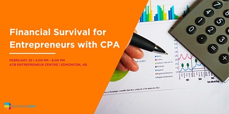 Financial Survival for Entrepreneurs with CPA NORTH tickets