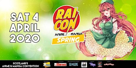 Rai Con - Spring tickets