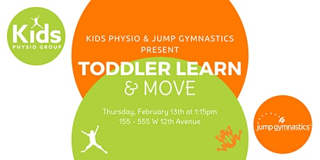 Toddler Learn & Move tickets