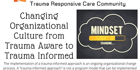 Trauma Responsive Care Community Meeting tickets