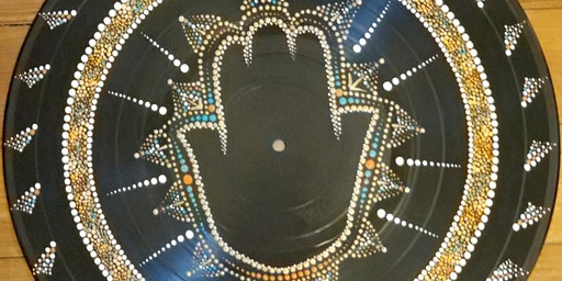 Mandala on Vinyl - Hamsa