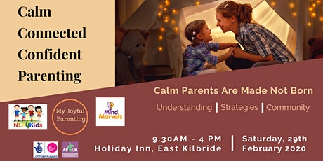 Calm Connected Confident Parenting tickets