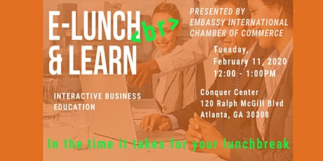 EICC E-Lunch (Break) & Learn tickets