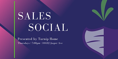 Turnip Home Sales Social tickets