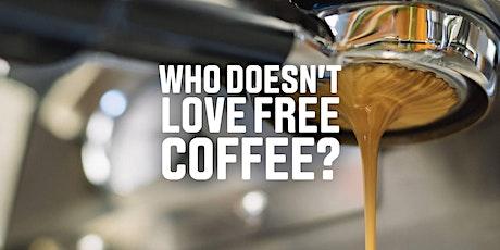 27/01 (segunda-feira) Quem ama #FREECOFFEE? tickets
