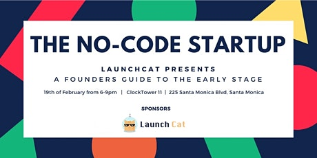 The No-Code Startup tickets