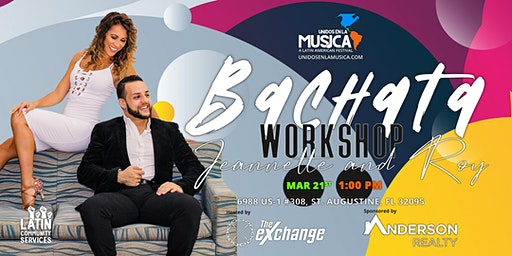 Two Hour Bachata Workshop w/ Jeannette & Roy
