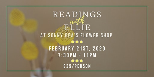 Readings with Ellie @ Sonny Bea's