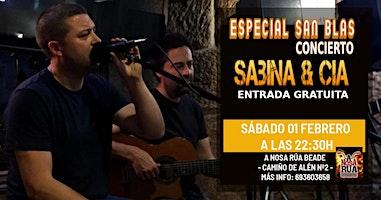 Concierto Sabina & Cía en Vigo