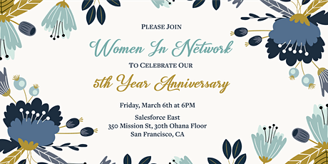 Women In Network 5th Year Anniversary Gala tickets