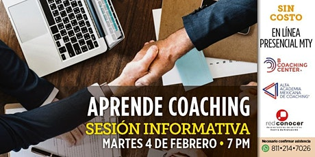 Aprende Coaching Profesional (4 febrero) tickets