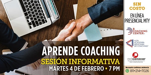 Aprende Coaching Profesional (4 febrero)