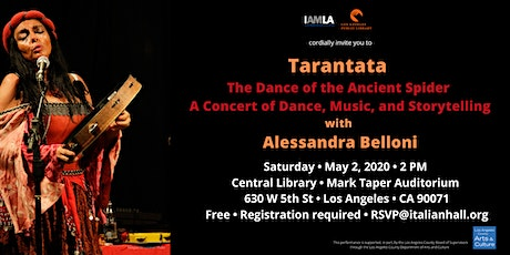 Tarantata The Dance of the Ancient Spider A Concert with Alessandra Belloni tickets